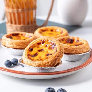 250个仅€10.99  超省事做蛋挞AIOIA 一次性锡纸蛋挞磨具 美味蛋挞在家做 更加便捷啦