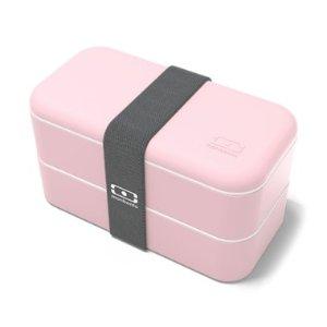Monbento粉色便当盒