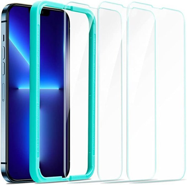 iPhone 13 Pro Max 钢化玻璃屏幕保护膜 3张