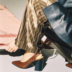 低至5折+额外8折 €57收袜靴& Other Stories 精选鞋履大促 收博主最爱ins风美鞋