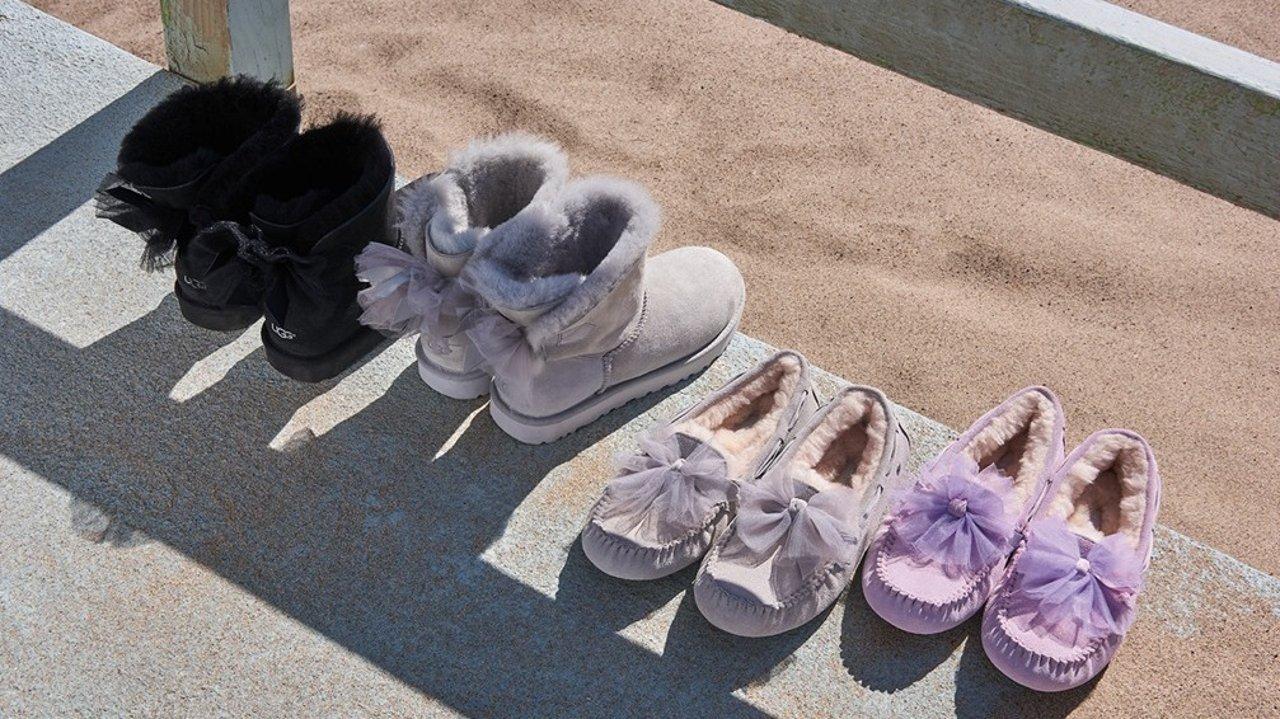 告别雪地靴,让UGG用马卡龙糖果色承包你的春夏鞋柜