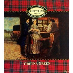 around $7.21 after discountFamous Blacksmiths Shop Gretna Green Shortbread Carton 500g