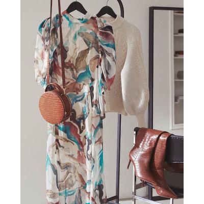 柔美温柔的秋季穿搭 你只需要照着买HM 封面同款穿搭推荐来了 秋季优雅气质风你值得拥有