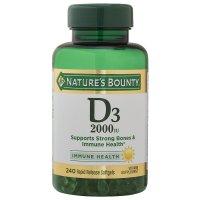 Nature's Bounty 维生素 D-5000 IU