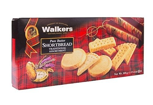 苏格兰混合装黄油饼干 500克