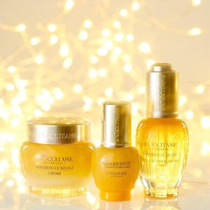 $24 (Original $27) Plus $20 Store CreditWith Purchase of Immortelle Divine Radiance Duo@ L'Occitane