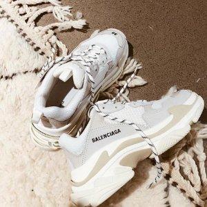 变相6折起 $766 收TripleS封面款Balenciaga 潮鞋定价优势 老爹鞋、袜子靴多色选 免关税