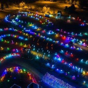 11月1日-12月30日纽约Skylands Stadium圣诞灯展