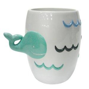 小鲸鱼漱口杯