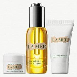$187(价值$289.6)上新:La Mer 精华油超值套装