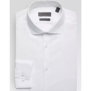 Calvin Klein3 for $99.99Infinite White Non Iron Extreme Slim Fit Stretch Dress Shirt - Men's Shirts   Men's Wearhouse