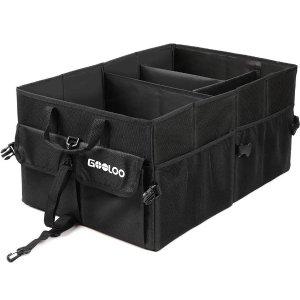 GOOLOO 汽车后备箱防水可折叠收纳盒