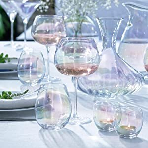 $65收4件不倒翁五彩杯LSA 宝格丽酒店同款酒杯 网红五彩杯、樱花粉等