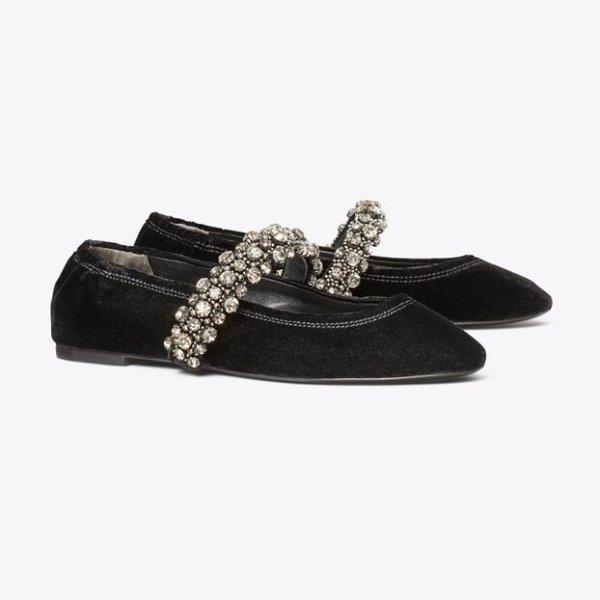水晶芭蕾鞋