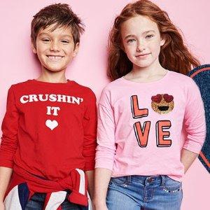 愛媽媽T恤$5包郵折扣升級:OshKosh B'Gosh童裝官網 新品低至5折+滿額8折