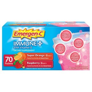Emergen-C Immune Plus, 70 Packets