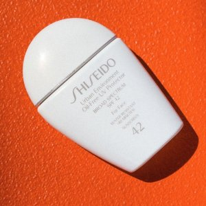 20% off+Free GiftUrban Environment Oil-Free UV Protector @ Shiseido
