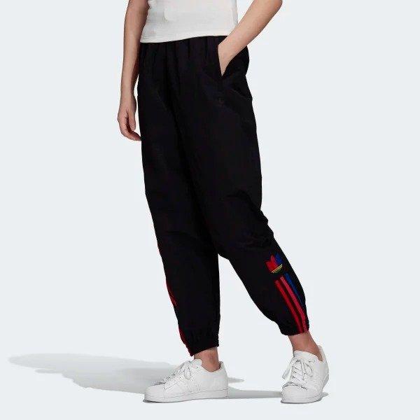 三色标休闲裤