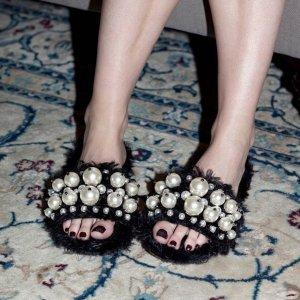 低至5折Italist 17年大牌服饰鞋履包包热卖,收Miu Miu 毛拖鞋