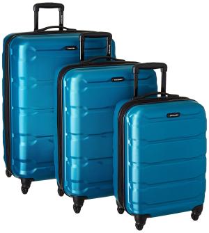 $305.6 (原价$587.65)Samsonite 新秀丽 20/24/28寸 轻质硬壳拉杆行李箱3件套