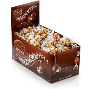 LindtLINDOR 松露榛子巧克力 120个装