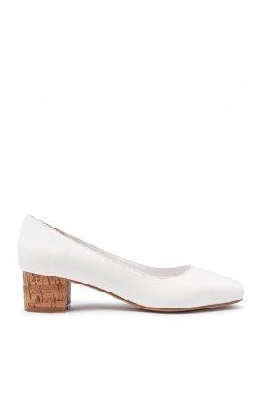 E8 by Miista Cork Block Heel Shoes
