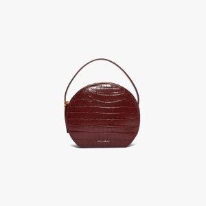 Coccinelle酒红色手提包