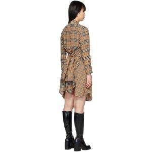 Burberry格纹连衣裙