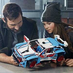 到手价$100.39 (官网$109.99)LEGO 科技系列 42077 拉力赛车,英淘优势比官网低