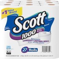 Scott 1000张超耐用卫生纸 共27卷