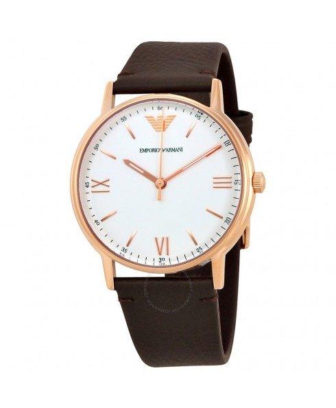 玫瑰金表盘手表