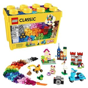 As Low  As $4.99LEGO Classic Toys @ Amazon