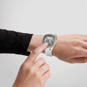 $63.17(原价$90)TIMEX Ironman 白色树脂运动手表 带有心率监测功能