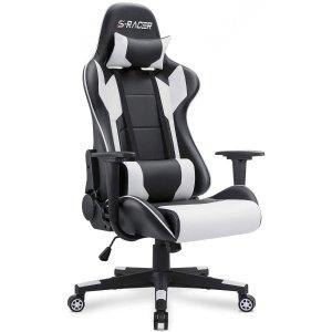 $118.74Homall 高背电竞椅 带腰垫头枕