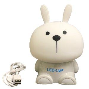 $12.99Creative Motion LED柔软可挤压兔子小夜灯