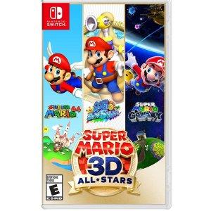 《超级马力欧 3D 全明星》Switch 实体版 好价速入