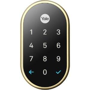 $199(原价$279)Nest x Yale 智能门锁 黄铜色 支持Nest 连接