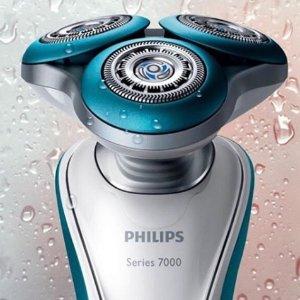 $143.99 (原价$239.99) 6折Philips 飞利浦 7000 干湿两用电动剃须刀 敏感肌也适用