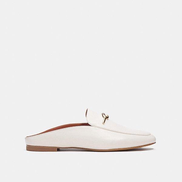 蝴蝶结穆勒鞋 三色选