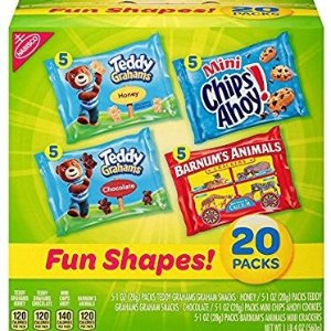$6.63Nabisco Fun Shapes Mix Cookies & Crackers 20 Count Box 20 Ounce