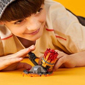$7 (原价$13.99)史低价:Lego Ninjago 幻影忍者凯的旋转陀螺 70686 (共48粒)