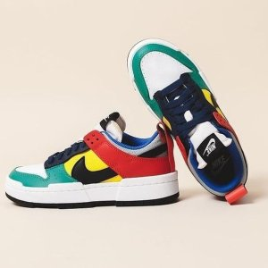 定价£99.95 随时断货补货:Nike Dunk Low Disrupt 乐高配色上架 彩色控必入鞋款