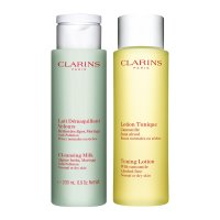 Clarins 普通-干性肌肤清洁套装
