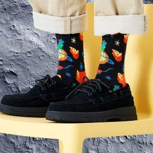 低至6折+免运Happy Socks 新年大促 新款礼盒、联名袜子加入