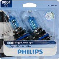 CrystalVision Ultra 9004 升级灯泡 2只装