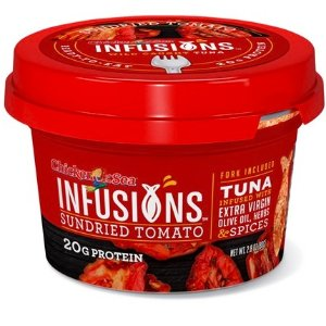 $15.99 only $1.3 per itemChicken of the Sea Infusions 12-Pack, Sundried Tomato