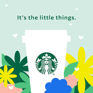 Free to EngageStarbucks Earth Month