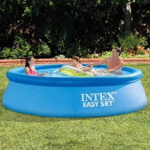 $75.99(原价$135.81)Intex 10' x 30 充气泳池大促,凉爽夏天不二选择