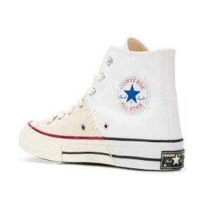 低至4折 £87收封面拼接款Converse 帆布鞋春季大促 超多联名款也参与