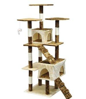 $78.99 (原价$121.96)Homesity HC-002 多层豪华猫爬架